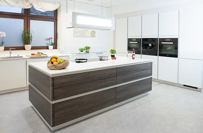 amerikanisches k chendesign. Black Bedroom Furniture Sets. Home Design Ideas